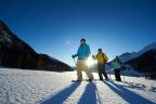 Schneeschuhlaufen in Klosters-Davos
