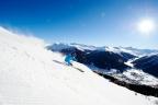 Skifahren auf Parsenn