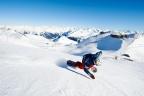Snowboarden auf Parsenn