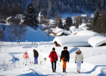 Winterwandern in Klosters