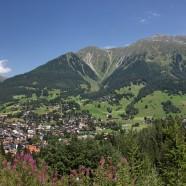 Blick auf Klosters