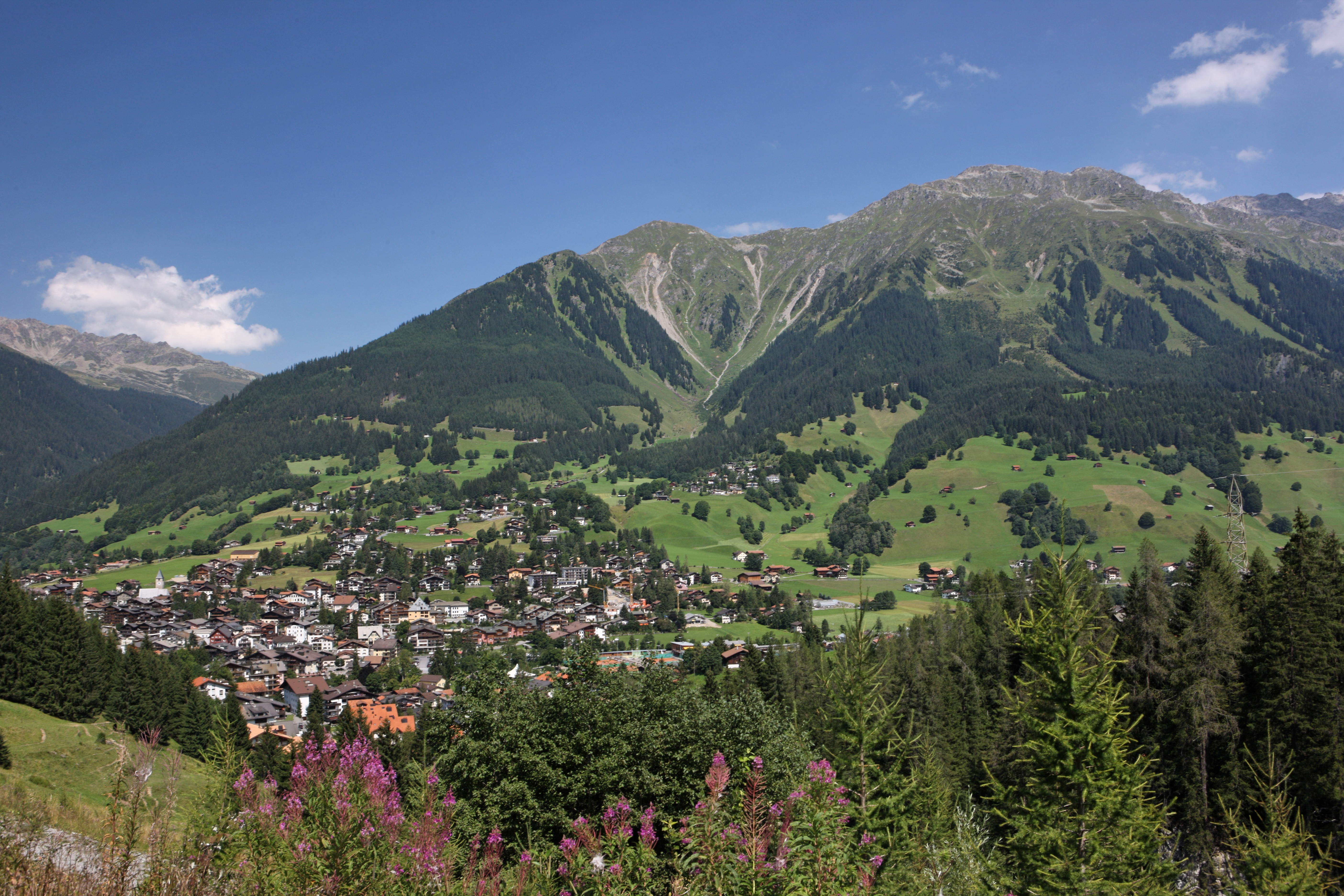 Klosters im Sommer