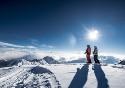 Skifahren in Klosters-Davos