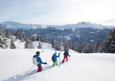 Schneeschuh-Tour in Klosters-Davos