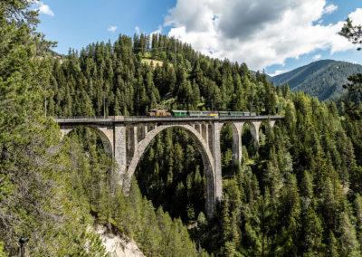 Nostalgiezug der Rhätischen Bahn