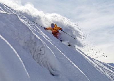 Freeriden in Klosters-Davos
