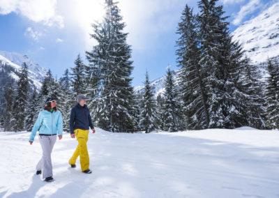 Winterwandern in Klosters-Davos